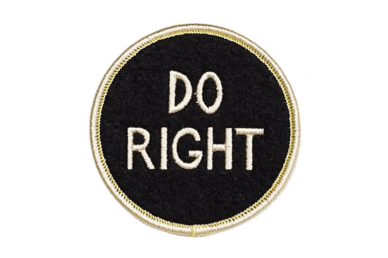 Patch | Do Right | Oxford Pennant