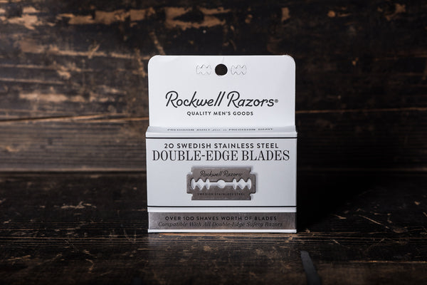 Swedish Stainless Steel Blades | 20ct | Rockwell Razors - Manready Mercantile