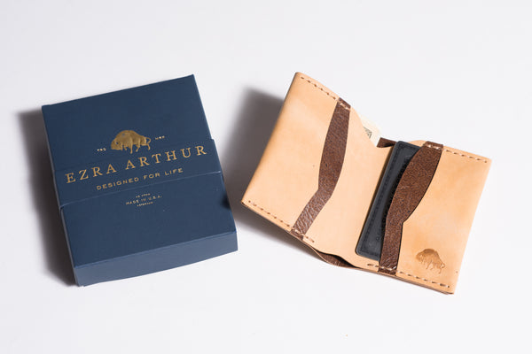 Leather Wallet | No. 4 | Ezra Arthur