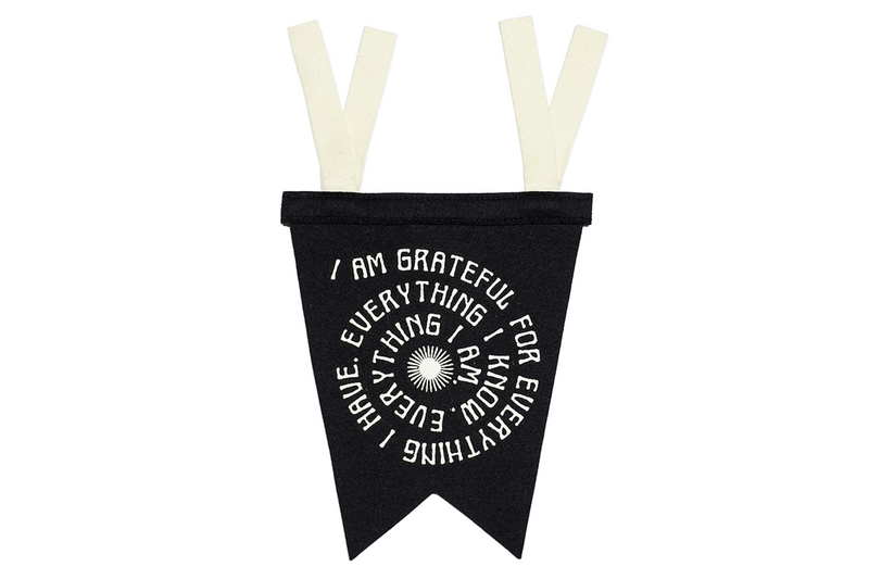 Fishtail Pennant | Grateful | Oxford Pennant