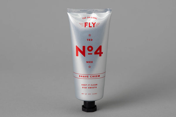 No. 4 Shaving Creem | Fly Barbershop