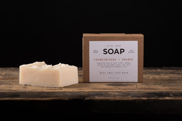 Ye Ol' Goat Soap | Frankincense + Orange | Manready Mercantile - Manready Mercantile