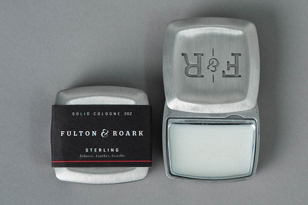 Solid Cologne | Sterling | Fulton + Roark