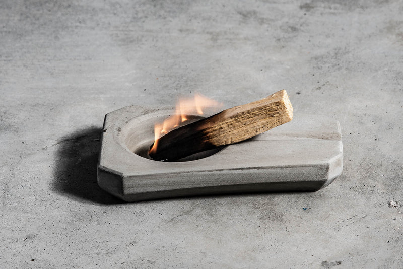 Concrete Ashtray | Oblong | M. Hagelsieb
