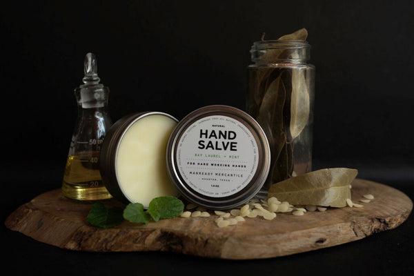 Hand Salve | Bay Laurel + Mint | Manready Mercantile