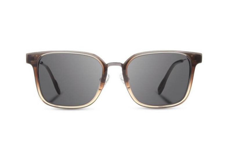 Baker Acetate Sunglasses | Harbor Fade Ebony Grey | Shwood - Manready Mercantile