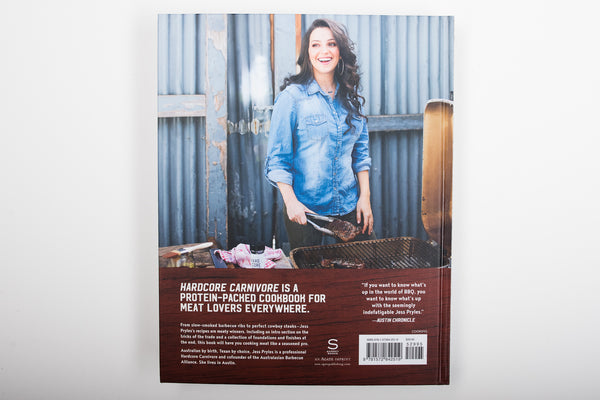 Hardcore Carnivore Cookbook | Signed | Jess Pryles