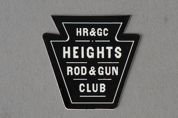 Sticker | Heights Rod & Gun Club | Manready Mercantile - Manready Mercantile