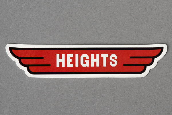 Heights Wings | Sticker | Manready Mercantile