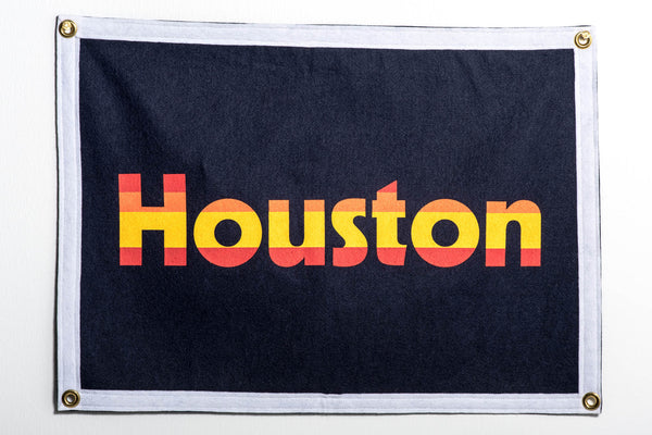 Banner | Houston Retro Astros | Oxford Pennants x Manready Mercantile