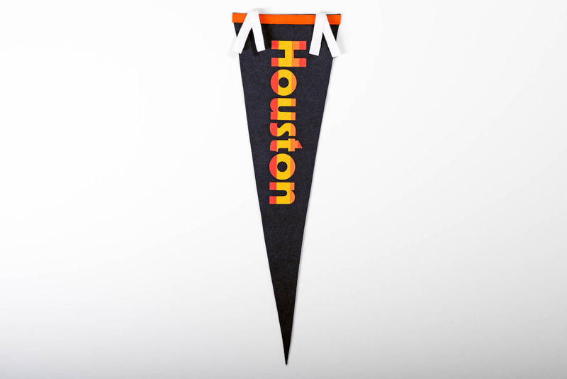 Pennant | Houston Retro Astros | Oxford Pennants x Manready Mercantile