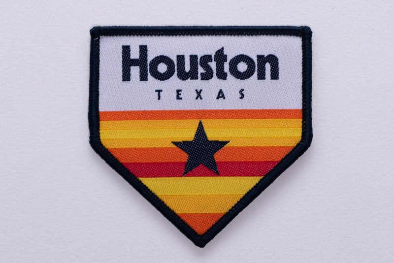 Patch | Vintage Houston Homeplate | Manready Mercantile - Manready Mercantile