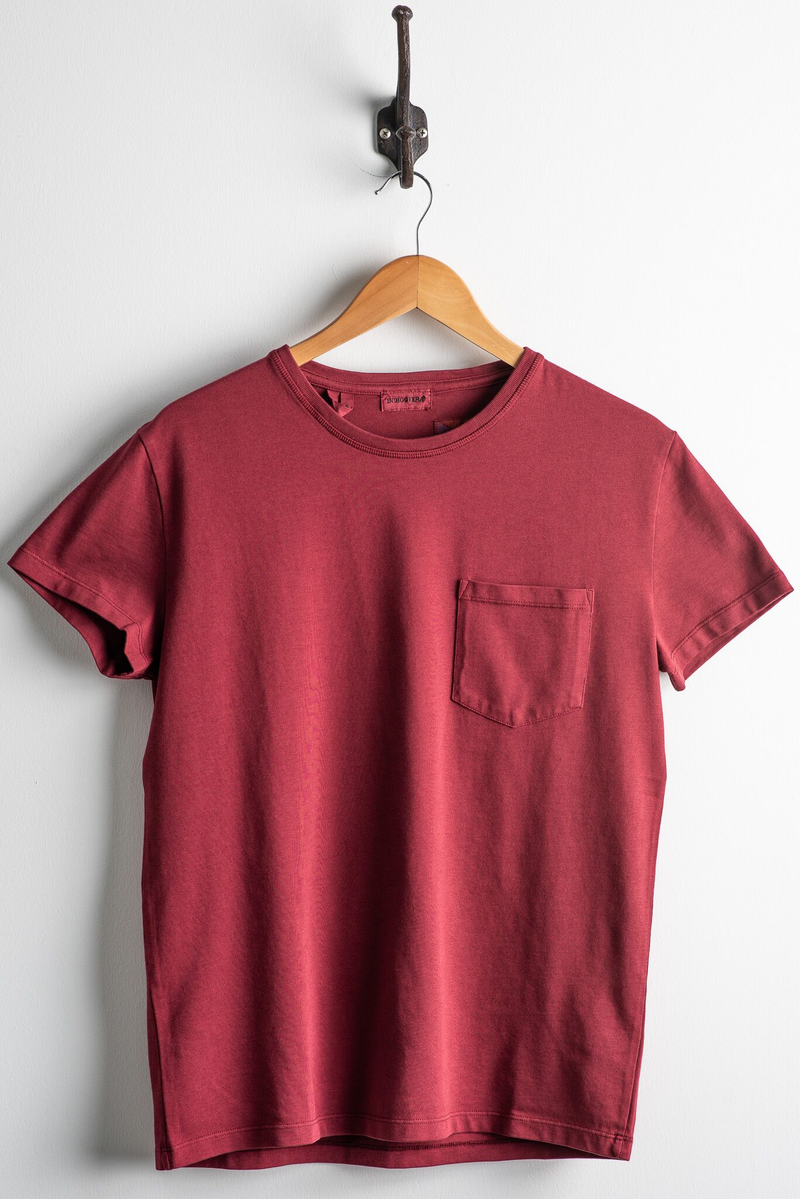 Wilson Shirt | Guajillo Red | Indigofera