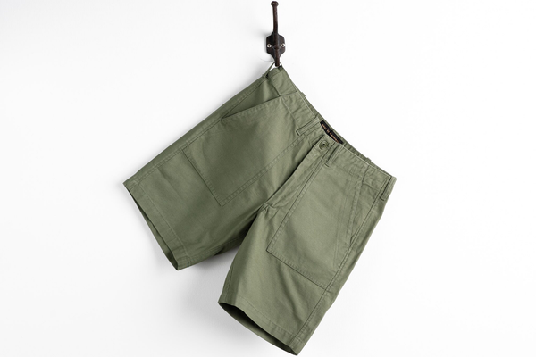 Harris Fatigue Short | Clover | Deus Ex Machina - Manready Mercantile