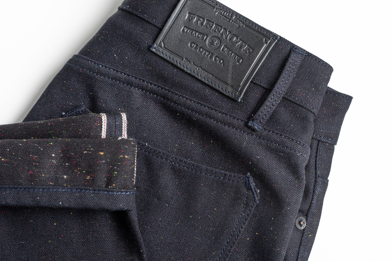 Portola Classic Taper | Raw Fleck 14.25 Japanese Denim | Freenote Cloth - Manready Mercantile