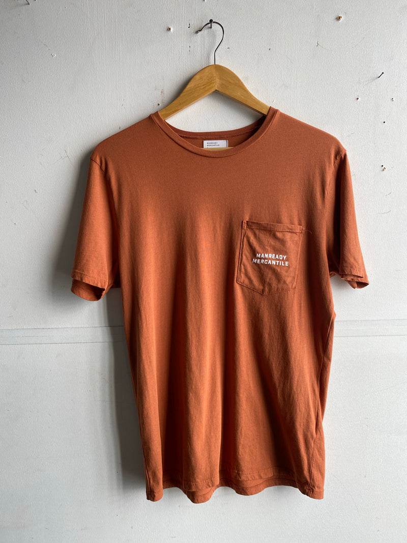 Graphic Pocket Tee | Longhorn | Sunset | Manready Mercantile
