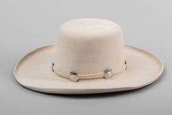 Silver Band Hat | Cream | Kennimer Trading Co.