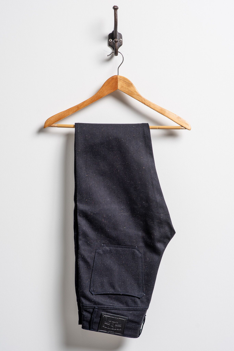 Portola Classic Taper | Raw Fleck 14.25 Japanese Denim | Freenote Cloth