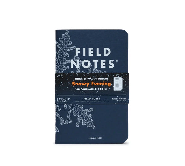 Snowy Evening | Memo Books | Field Notes
