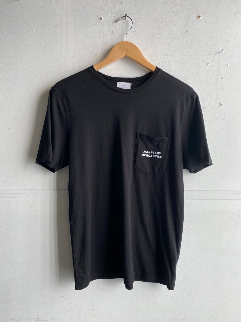 Graphic Pocket Tee | Longhorn | Black | Manready Mercantile