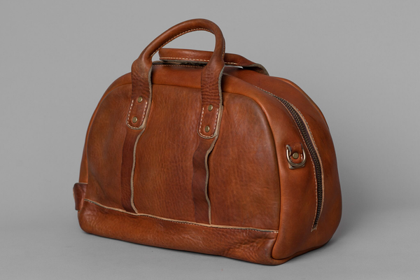 Stone Washed Duffel #120 | Vintage Chestnut | Coronado Leather