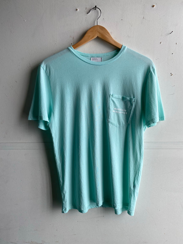 Graphic Pocket Tee | Come And Take It | Mint | Manready Mercantile
