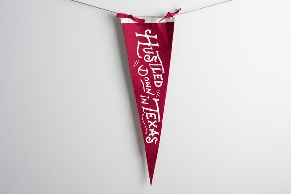 Hustled Down In Texas | Oxford Pennants