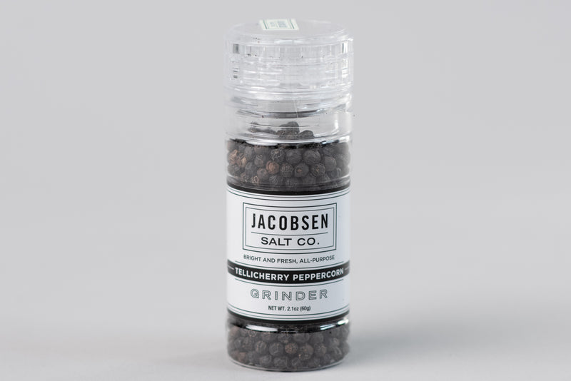 Tellicherry Peppercorn Grinder | Jacobsen Salt Co. - Manready Mercantile