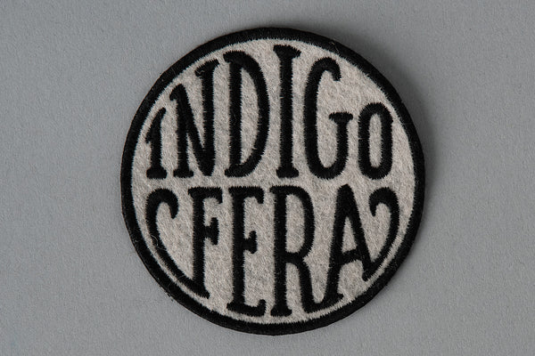 Patch | Round Logo Badge | Indigofera