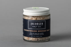 Cherrywood Smoked Salt | Jacobsen Salt Co.