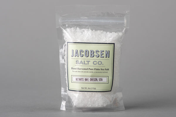 Pure Flake Sea Salt | Jacobsen Salt Co. - Manready Mercantile