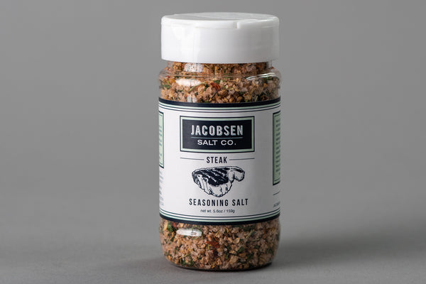 Jacobsen Salt Co. Steak Seasoning Salt available at Manready Mercantile and manready.com