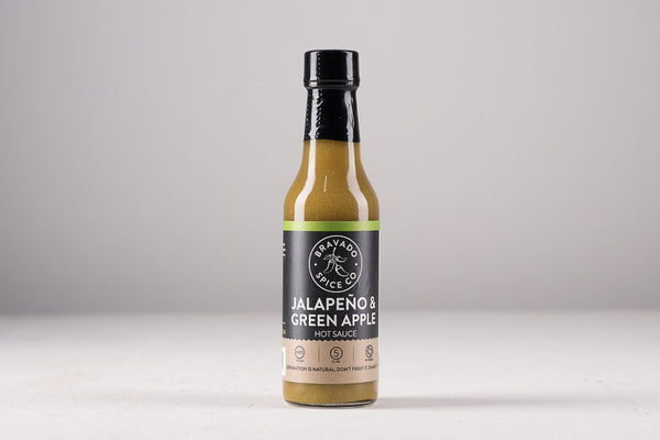 Bravado Spice Co Hot Sauce Made in Houston Texas Pantry Kitchen BBQ Manready Mercantile Jalapeño Green Apple