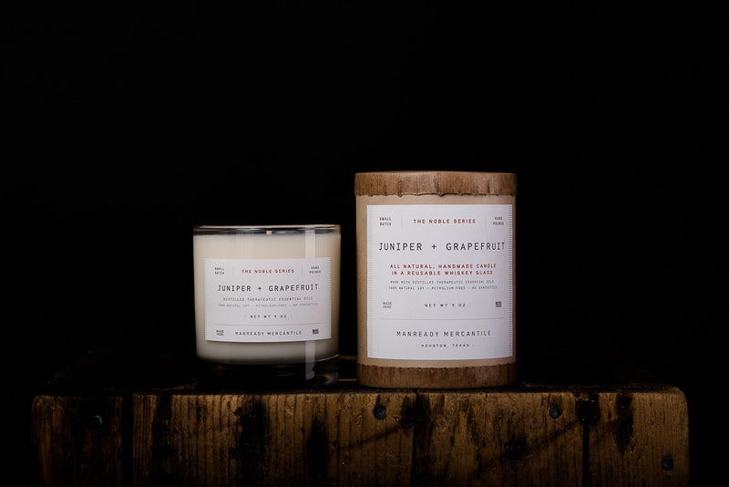 The Noble Series Soy Candle | Juniper + Grapefruit | Manready Mercantile - Manready Mercantile