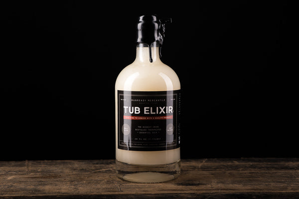 Tub Elixir Bubble Bath Manready Mercantile Made in Houston