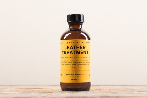 Manready Mercantile Leather Treatment Mink Oil Boot Care Leather