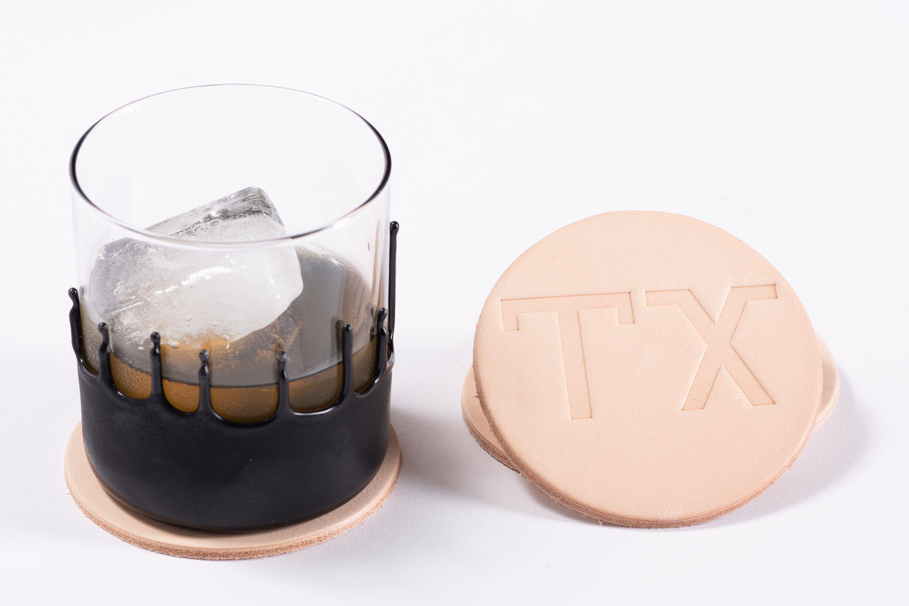 Leathers Coasters | TX