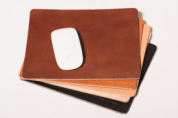 Leather Mouse Pad | Made In Texas | Manready Mercantile