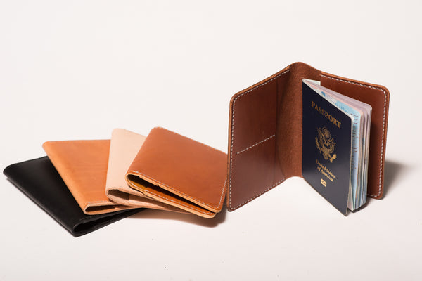 Leather Passport Wallet | Manready Mercantile
