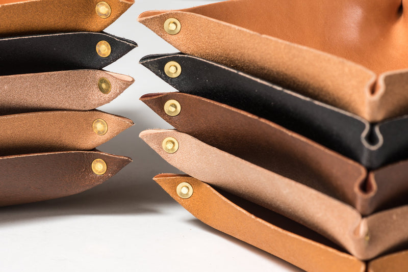 Leather Valet Tray | TX | Manready Mercantile