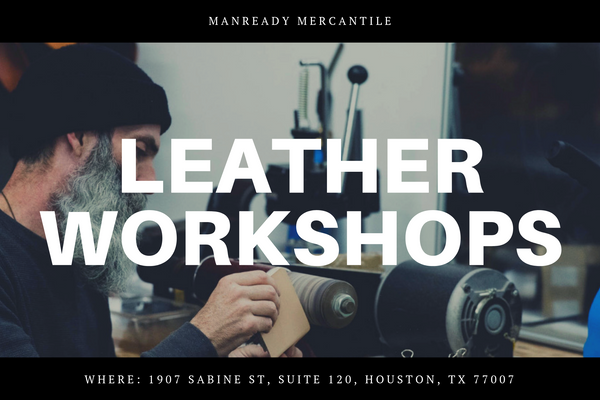 Leather Workshop | Basics of Hand Stitching