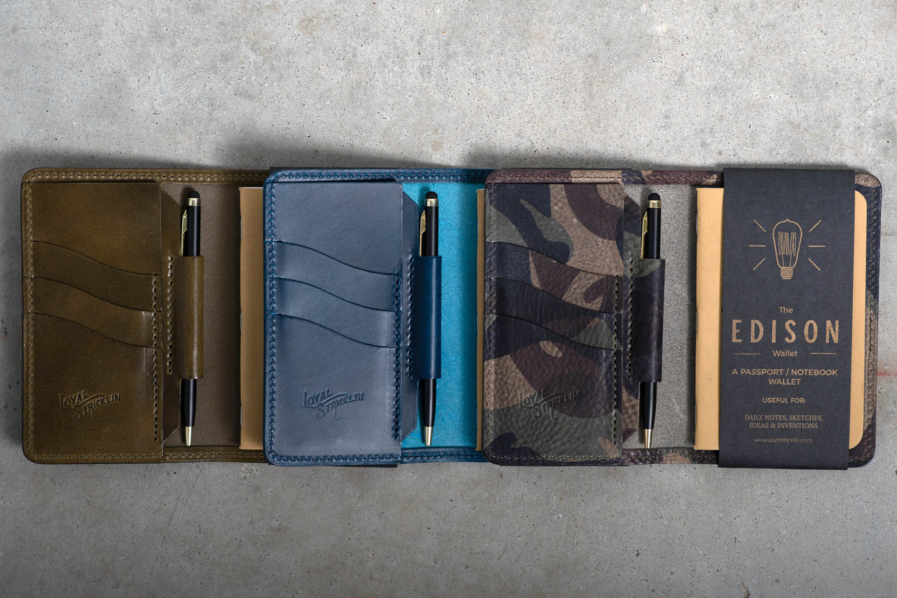 Edison Wallet |  Manready Mercantile + Loyal Stricklin