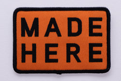 Patch | Made Here | Orange | Manready Mercantile
