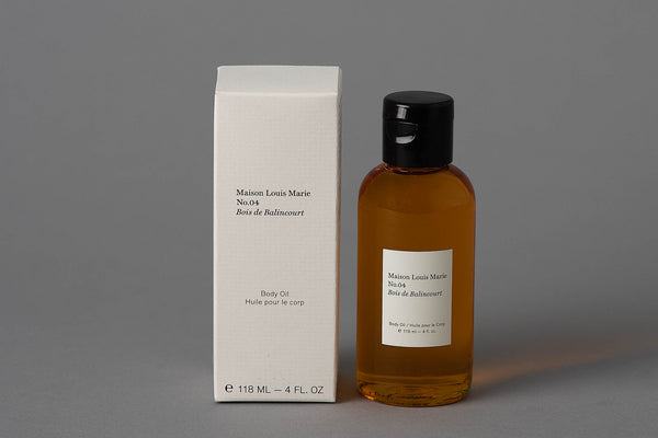 No.04 | Bois de Balincourt | Body Oil | Maison Louis Marie