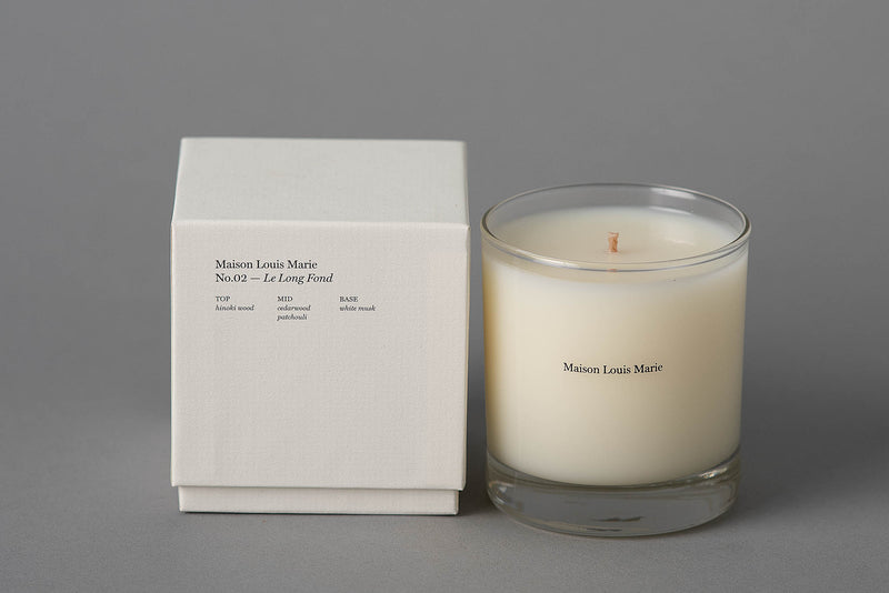 No.02 Candle | Le Long Fond | Maison Louis Marie - Manready Mercantile