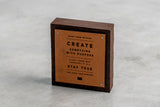 Start from Nothing Hardwood Display Block | Manready Mercantile - Manready Mercantile