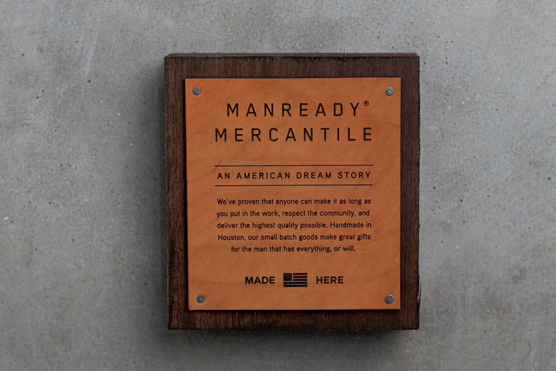American Dream Story Hardwood Display Block | Manready Mercantile - Manready Mercantile