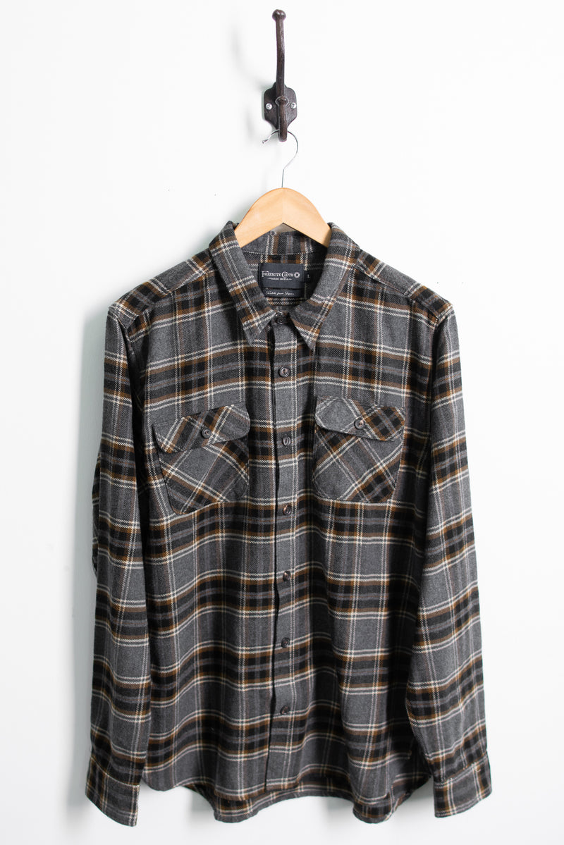 Jepson Shirt | Castle Check | Freenote Cloth - Manready Mercantile