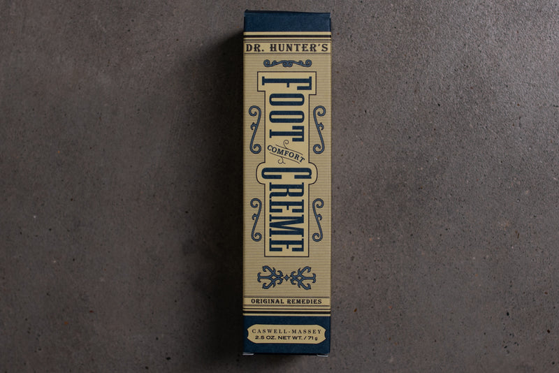 Dr. Hunter's Foot Creme | Caswell Massey - Manready Mercantile