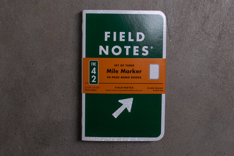 Mile Marker | 3 Pack | Field Notes - Manready Mercantile